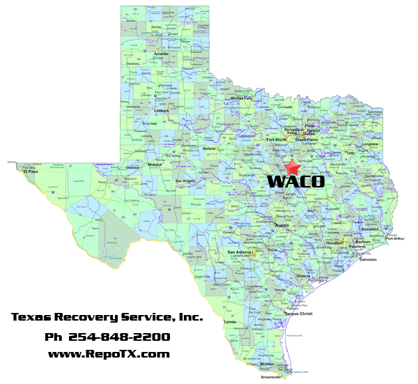 Texas Recovery Service Inc Repossession Recovery Services